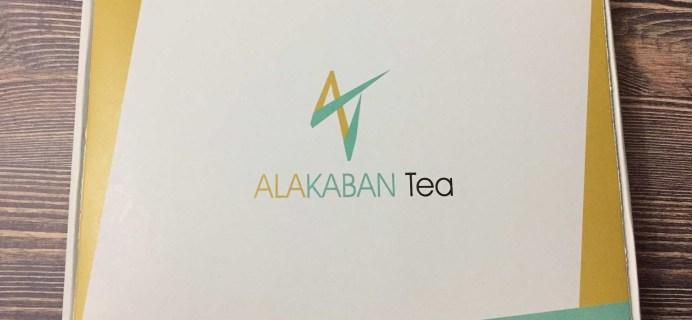 Alakaban Tea February 2017 Subscription Box Review
