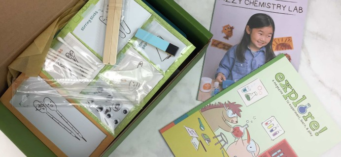 Kiwi Crate Fizzy Chemistry Lab Giveaway