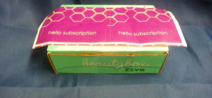Beauty Box 5 February 2017 Subscription Box Review & Coupon
