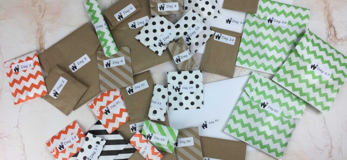 Stitchy Box Countdown to Halloween 2016 Unboxing