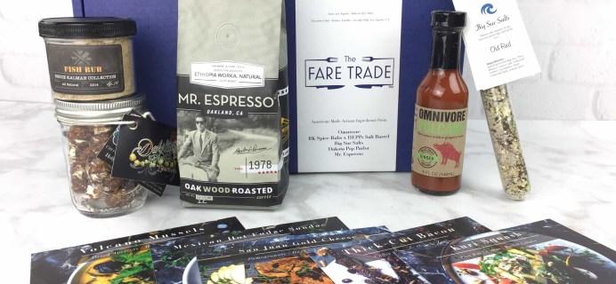 The Fare Trade February 2017 Subscription Box Review