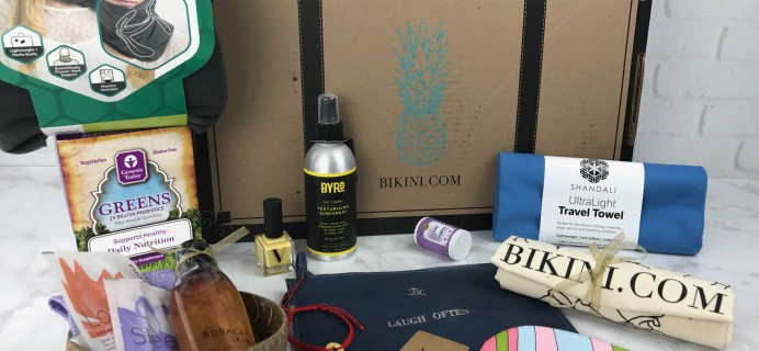 The Wanderlust by Bikini Winter 2017 Subscription Box Review & Coupon – Bali!