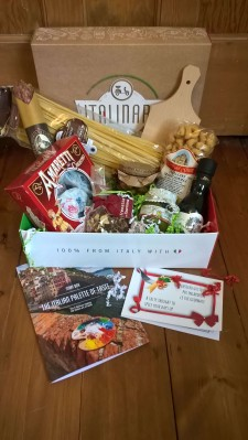 ITALINARY Subscription Box Review + Coupon – January 2017