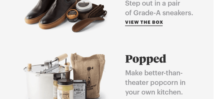 Bespoke Post – New Premium Boxes Now Available!