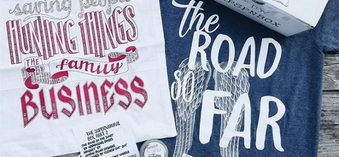 The Bookish Box: Supernatural Limited Edition Box Announced!