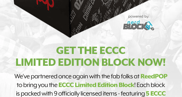 Nerd Block & ReedPop ECCC Limited Edition Box Available Now!