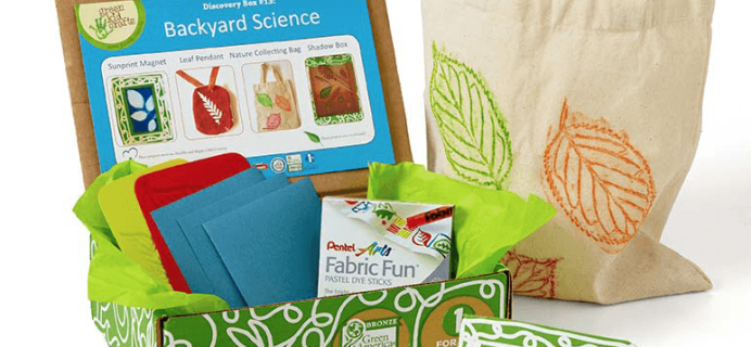 Green Kid Crafts Celebrate Earth Month + Coupon! Up to $60 Off!