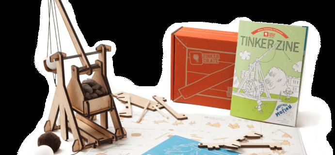 Tinker Crate February 2017 Sneak Peek + Coupon!