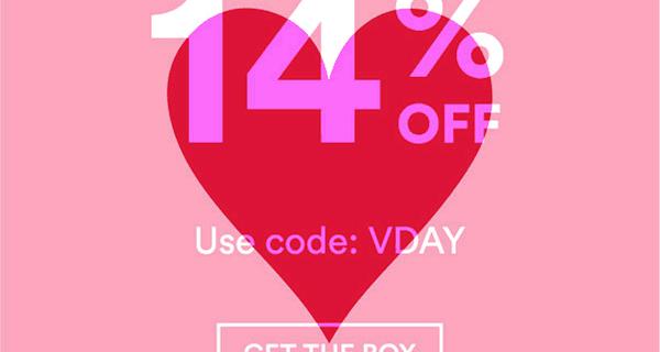 Beautycon Box Valentine's Day Coupon: 14% Off!