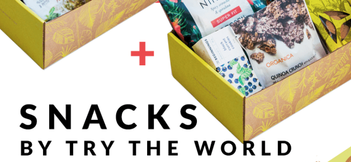 Try The World Snack Box Coupon: Buy One Get One FREE!