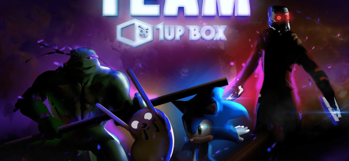 1Up Box March 2017 Spoilers + Coupon!