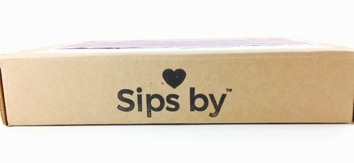 Sips By February 2017 Subscription Box Review