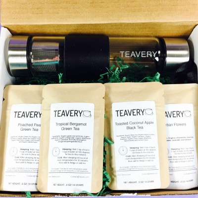 Teavery February 2017 Subscription Box Review