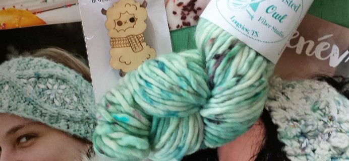 Yarn Crush Subscription Box Review & Coupon – January 2017