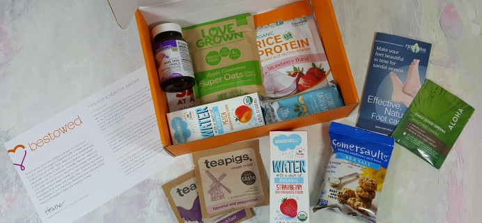 Bestowed Subscription Box Review + 50% Off Coupon – February 2017