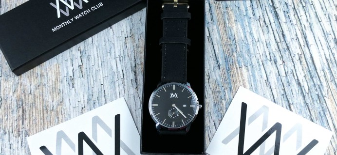 Monthly Watch Club Subscription Box Review + Coupon – March 2017