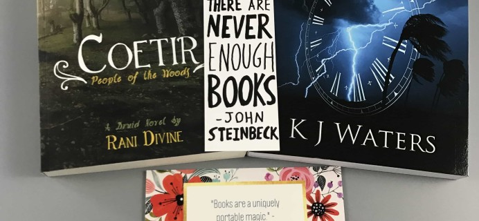 Indie Book Connect Subscription Box Review + Coupon – March 2017
