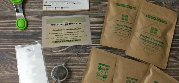 Dollar Tea Club March 2017 Subscription Box Review
