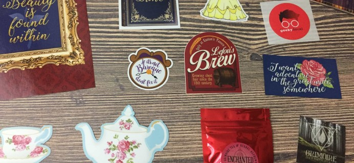 The Geeky Decal March 2017 Subscription Box Review + Coupon