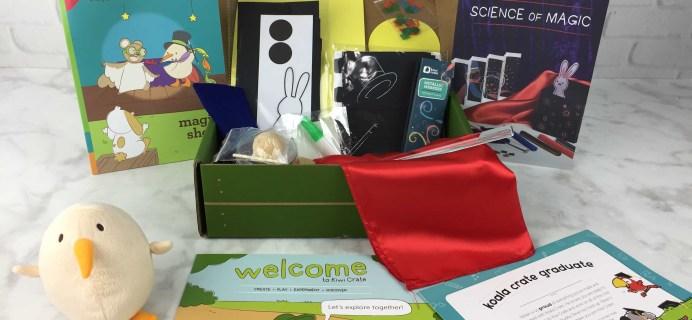 Koala Crate Graduation Box / Kiwi Crate Welcome Box Review & Coupon