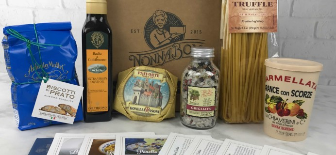 Nonna Box February 2017 Subscription Box Review + Coupon