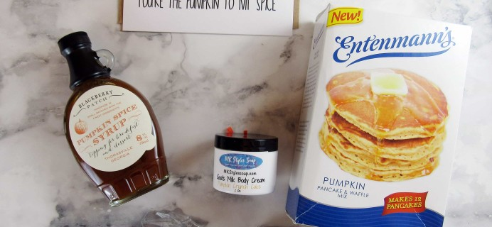 The Pumpkin Batch February 2017 Subscription Box Review