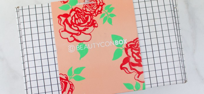 Beautycon Box Spring 2017 Subscription Box Review + Coupon