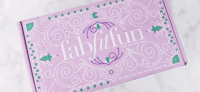 FabFitFun Spring 2017 Subscription Box Review + $10 Coupon