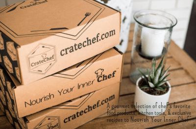 CrateChef December 2020-January 2021 Curator Reveal + Coupon!