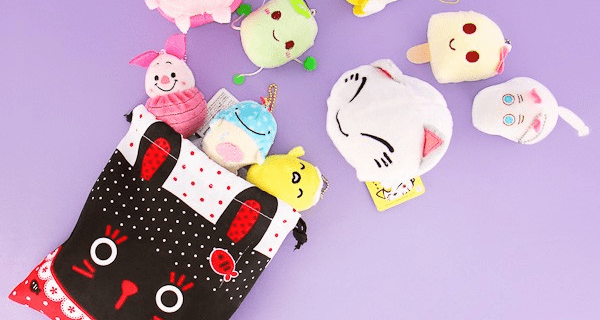Blippo Surprise Kawaii Plush Bag Available Now!