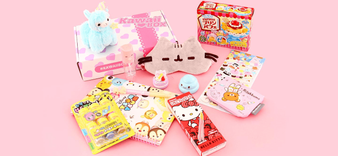 Kawaii Box Black Friday 2019 Coupon: $10 Off!