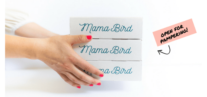 Mama Bird Box Coupon: One Box FREE on 3 Month Subscription!
