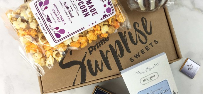 Amazon Prime Surprise Sweets Box March 2017 Review #2