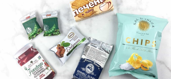 March 2017 Yummy Bazaar Subscription Box Review – Mini Box