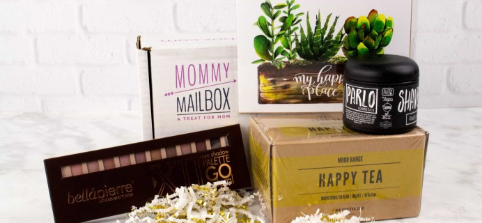 March 2017 Mommy Mailbox Subscription Box Review & Coupon
