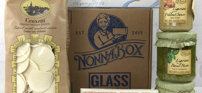 Nonna Box March 2017 Subscription Box Review + Coupon