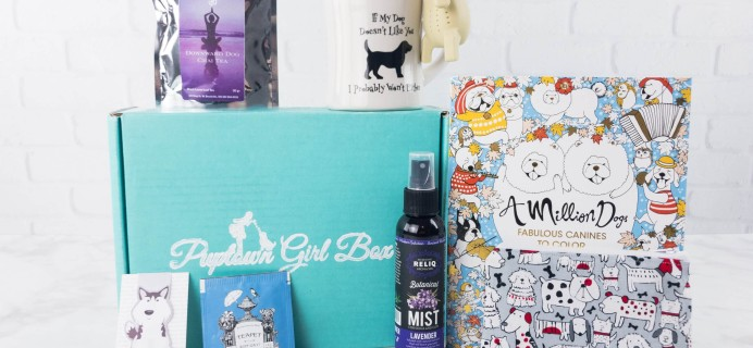 Puptown Girl Box March 2017 Subscription Box Review + Coupon