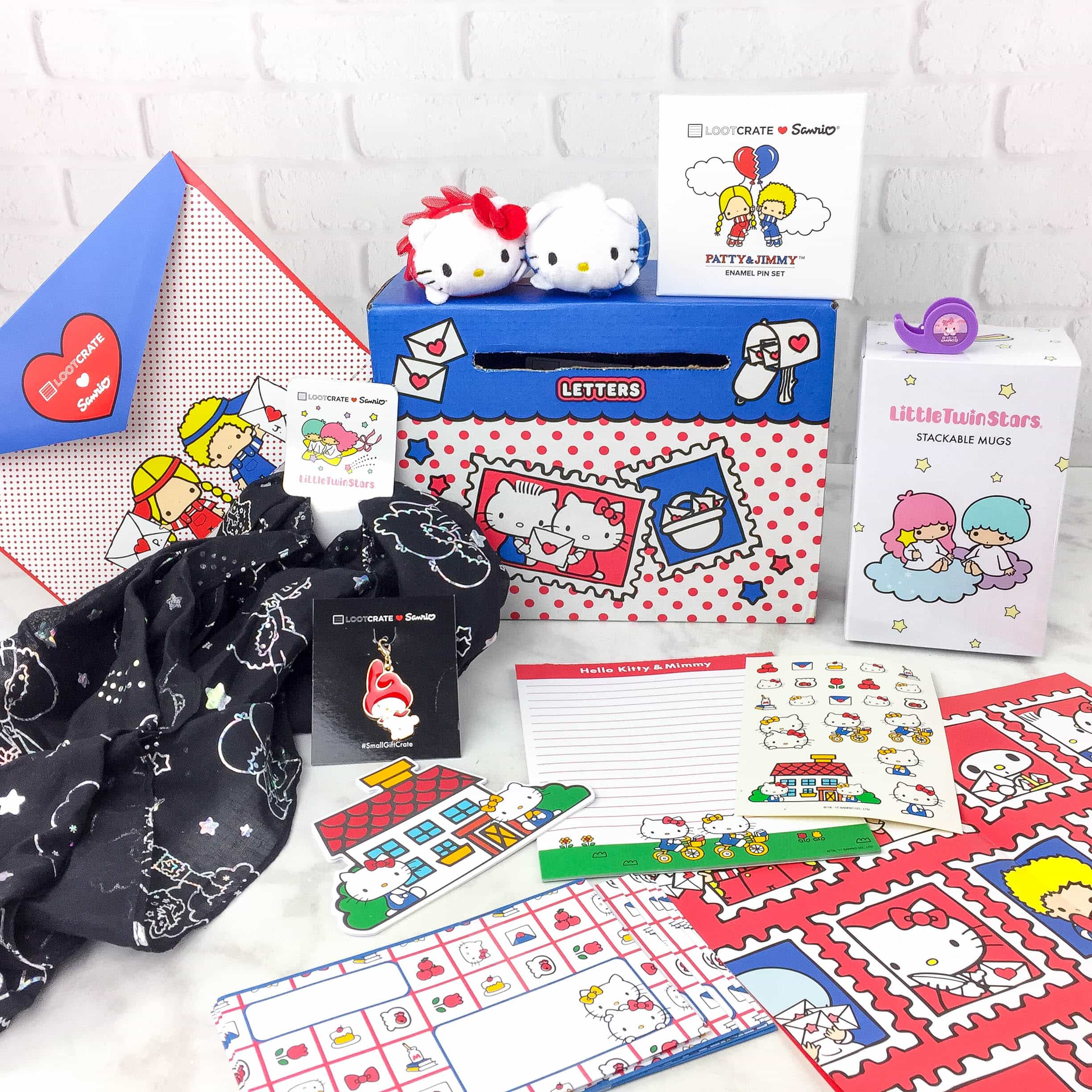 Sanrio Small Gift Crate Spring 2017 Subscription Box Review ...