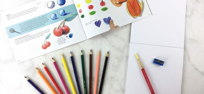 Target Art & Craft Kit March 2017 Review
