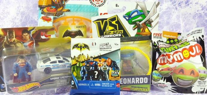 Toy Box Monthly February 2017 Subscription Box Review