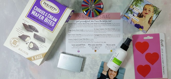 SinglesSwag Subscription Box Review & Coupon – April 2017