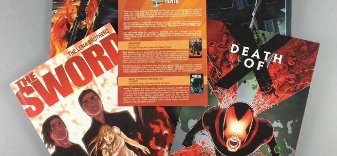 Comic Bento April 2017 Subscription Box Review & Coupon