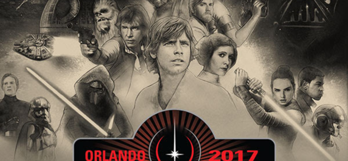 Nerd Block & Star Wars Limited Edition 2017 Star Wars Celebration Box Full Spoilers!