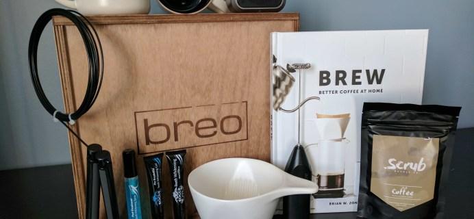 Breo Box Subscription Box Review + Coupon – Spring 2017