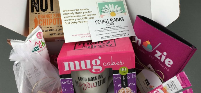 Daisy Bee February 2017 Subscription Box Review + Coupon