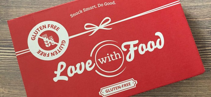Love With Food Gluten-Free April 2017 Subscription Box Review + Coupon