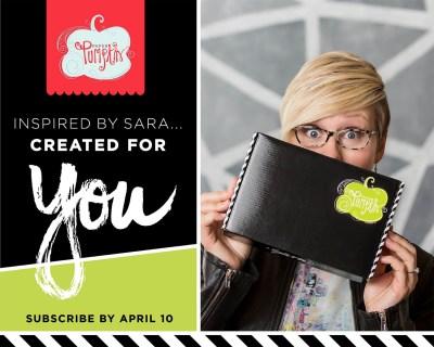 Stampin' Up Paper Pumpkin April 2017 Theme Spoilers + Free Gift!