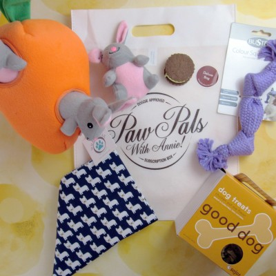 PawPals With Annie! April 2017 Subscription Box Review + Coupon
