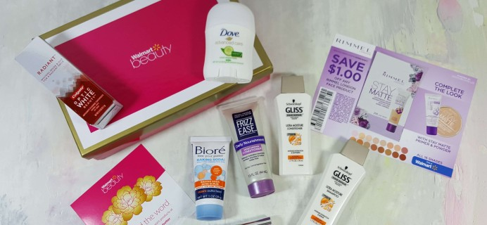 Walmart Trendsetter Beauty Box Subscription Review – Spring 2017