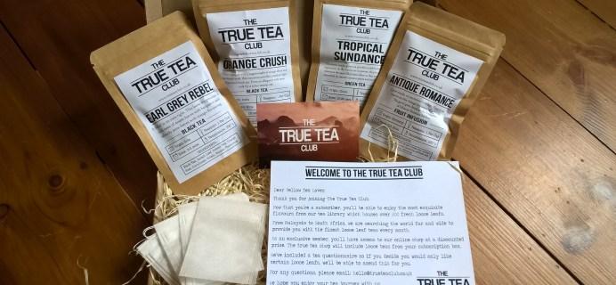 True Tea Club Subscription Box Review + Coupon – April 2017